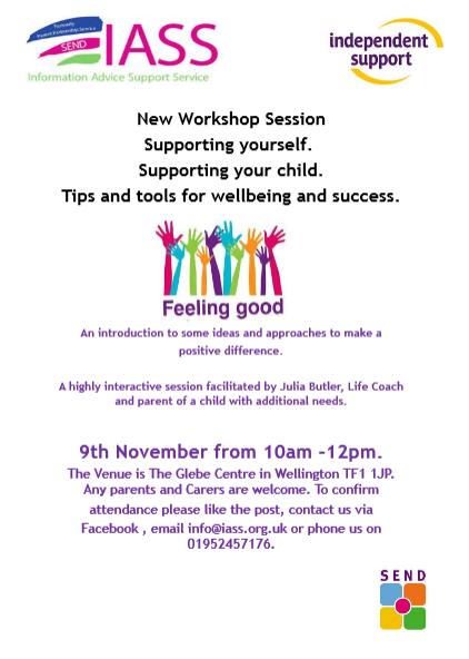 New workshop session for parents