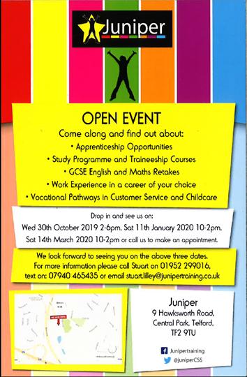 Juniper - Open Event