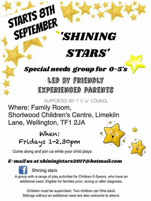 """""""Shining Stars"""" Special Needs Group"""