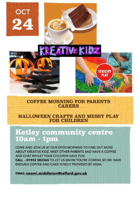 kreative kidz coffee morning