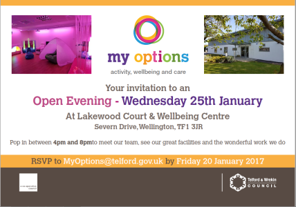 my options open evening