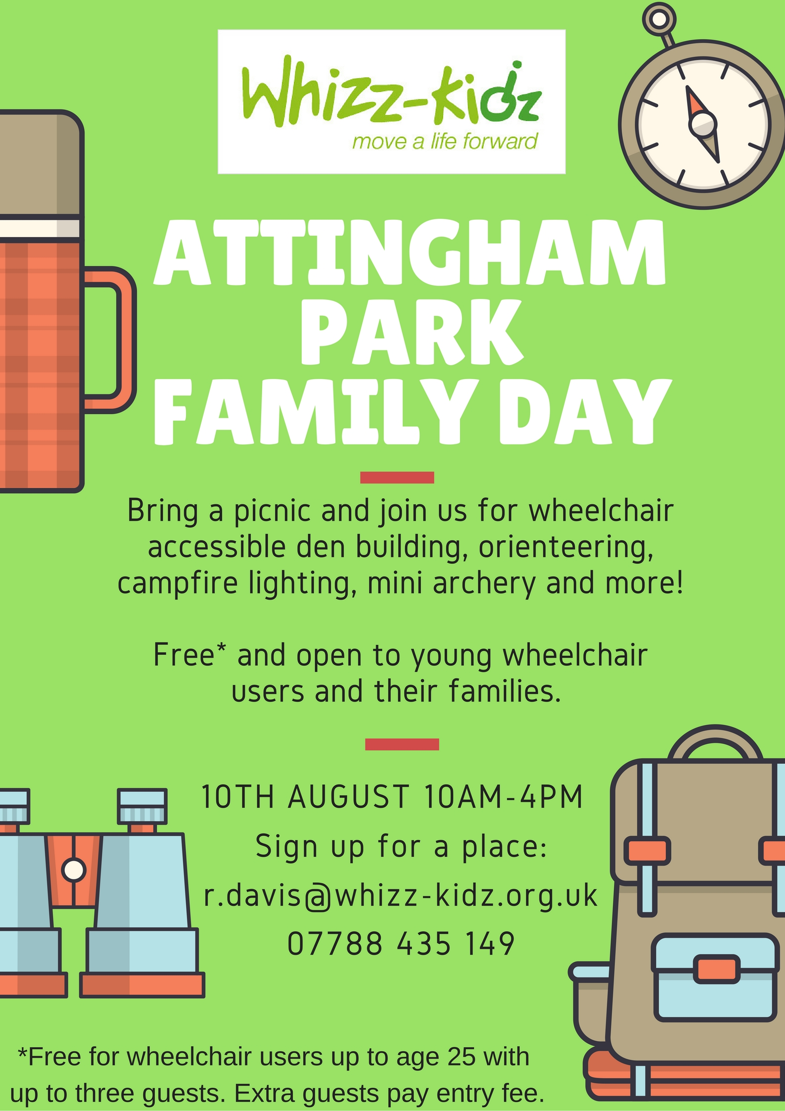 whizz kidz family day